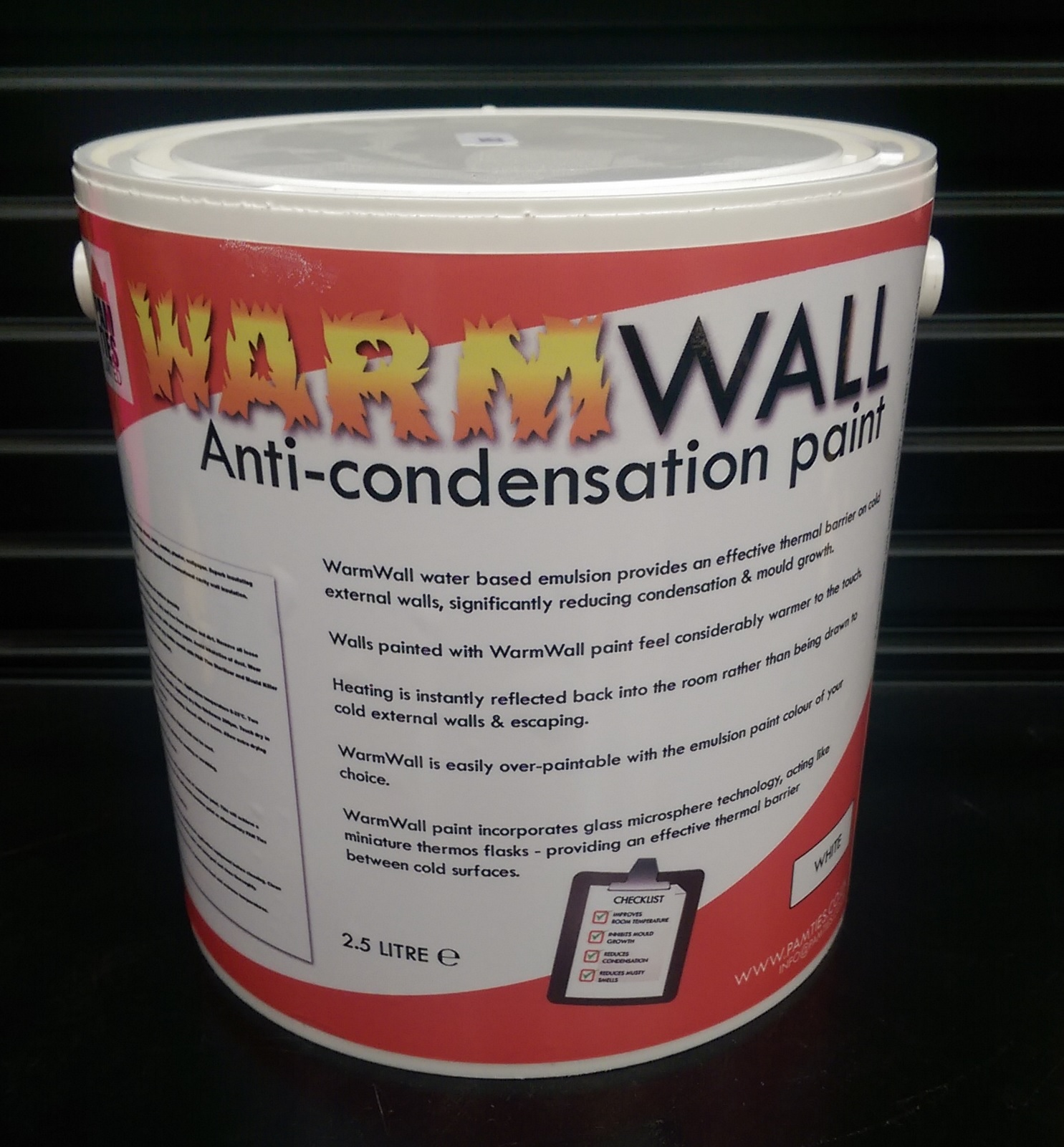 WarmWall anti-condensation paint